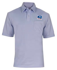 Men's Elbeco USPS Letter Carrier Polo Knit Shirt