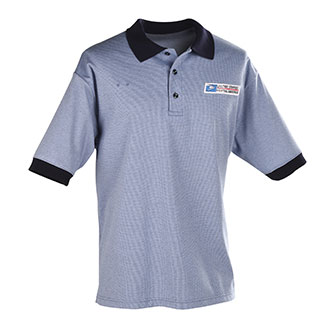 Men's Elbeco Postal Window Clerk Short Sleeve Polo